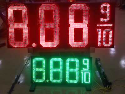 Led Gas Price Sign--ul Listed--30 Red18green