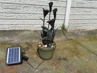 solarpower water feature.