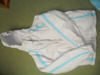 GIRLS SKI JACKET AND MATCHING TROUSERS INCLUDING FLEECES