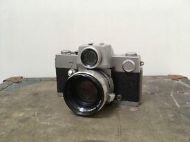 Rare Film Camera PETRIFLEX 7 with F/1.8,55mm PETRI lens 35mm Manual Film Camera