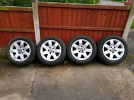 Bmw alloys With mint tyres