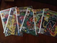 Collection de bandes dessinées spider man