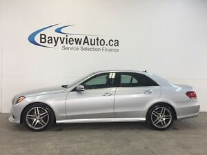 2016 Mercedes-Benz E400 - AWD! BI-TURBO! PANOROOF! AA! CP!