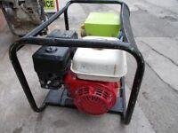 Petrol Electric Generator Honda Stephill 2.7kVA 2.2KW GX160