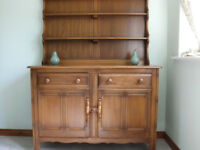 Ercol Dining Room Table, Chairs & Dresser