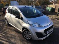 2013 Peugeot 107 Access 1.0 Petrol - Silver - 15k miles - £0 Tax - Service History