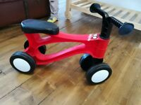 Toddlebike 2 pre balance bike 18months plus indoor / outdoor