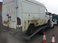 SCRAP VANS & CARS WANTED! £££