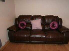 3 Seater Recliner & Recliner Chair.