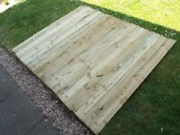 21 x Overlap Fence boards - NEW