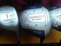 golf clubs for sale. bag. balls. etc all going cheap . offers welcome