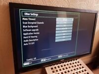 DIGIHOME 42-inch LED FULL HD TV,built in Wifi,Freeview HD, Fully Working