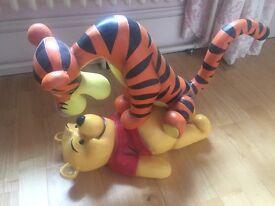 Beautiful Winnie the Pooh and Tigger Figurine
