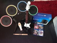 PS4 PRO WITH ROCK BAND