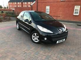2011/11 PEUGEOT 207 1.4 s 3 DOORS LOW MILES ONLY 66k MILES
