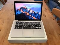 "Apple MacBook Pro 13.3"" Retina Display with enhanced customised specification."