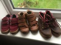 3 pairs of Marks and a Spencer size 10