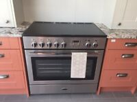 Never been used- Rangemaster Professional Plus FX 90 Induction Stainless Steel Range Cooker 96300.