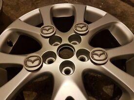 18 inch MAZDA wheels just refurbished