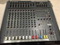 Soundcraft - Spirit 600 mixer (mixing desk) and flight case