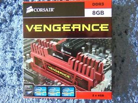 Vengeance — 8GB Dual Channel DDR3 Memory Kit (CMZ8GX3M2A1866C9)