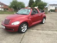 2007 CHRYSLER PT CRUISER CONVERTIBLE ONLY 50k MILES NEW MOT EXCELLENT CONDITION
