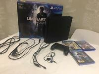 Playstation 4 slim 500gb like new condition