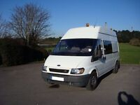 Ex Police Ford Transit LWB Hightop Dog Van