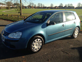 VW Golf (2006) New Shape Petrol 1.4cc MOT 2017 HPI Clear Excellent Condition - P/x Welcome