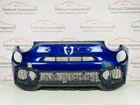 FIAT 500 ABARTH 595 FACE LIFT GENUINE BLUE FRONT BUMPER 2016-2020 [PP559]