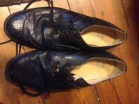 Ghillie Brogues Thistle - size 9 in very good condition, were £100 Highland Dress Kilt Shoes