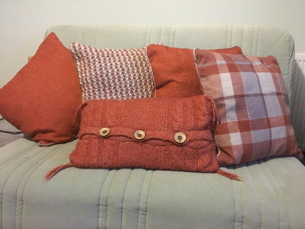 *NEW LOWER PRICE* Orange Cushions
