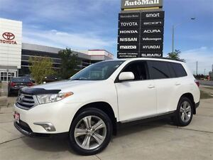 2013 Toyota Highlander V6 AWD LEATHER SEATS REVERSE CAMERA SUNRO