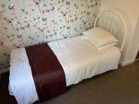 Single Bed With Mattress & headboard
