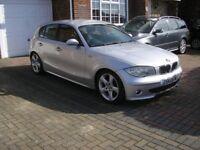 (2006) BMW 120 D 2.0 SPORT MET/SILVER 5 DOOR (90000 MILES SERVICE RECEIPY)