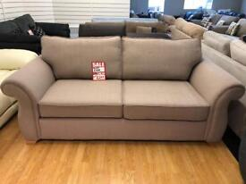 DFS Fabric 3 seater sofa