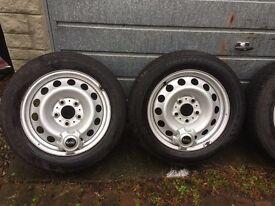 BMW MINI Set Wheels and Tyres Bridgestone Blizzak Tyres with 6mm Genuine Dealer Supplied