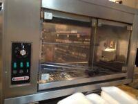 Gastro Tar Rotisserie Oven