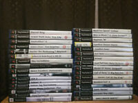 33 ps2 Playstation 2 games £40 as pictured. ( reduced from £50 )