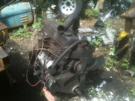 jcb 1964 3c fordson super major engine ALL PARTS AVAILABLE gearbox wheels booms pipes RAMS