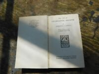 RARE BOOK THE LIFE OF CHARLOTTE BRONTE BY ELIZABETH GASKELL