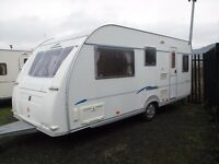 Fleetwood sonata 5 berth 2005 model with end shut off bed room