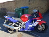Cbr 600fx 1999 in red. 11months mot.