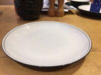 Denby 'Black' Dinner Plate
