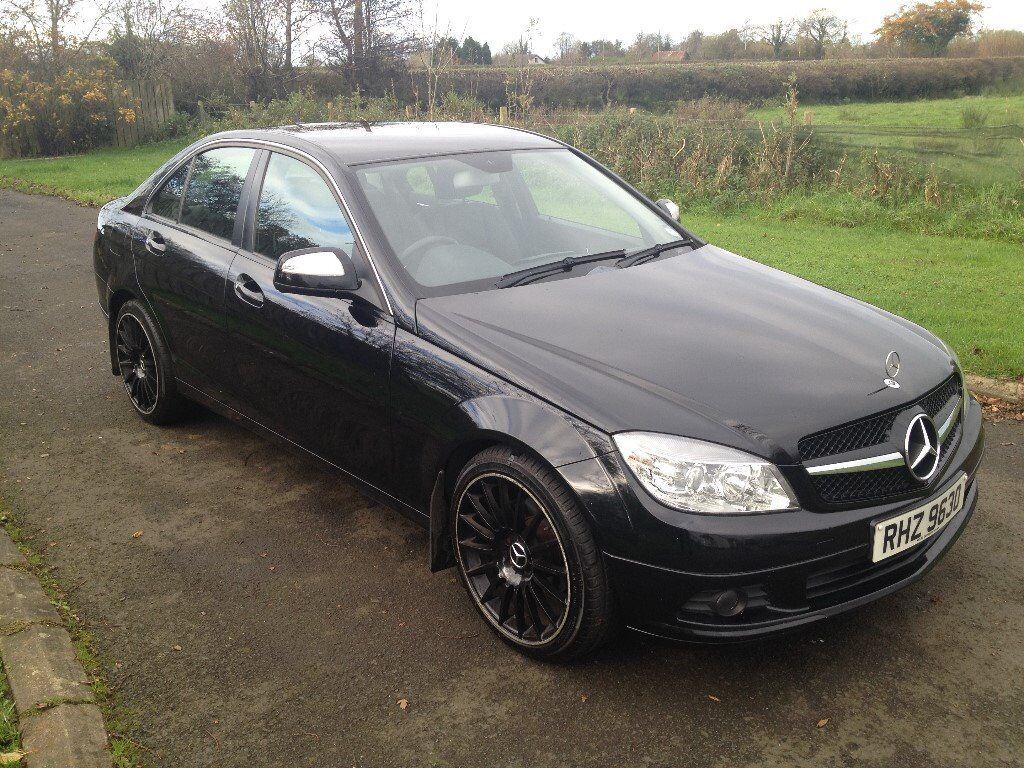 NOW SOLD 2008 Mercedes C-Class 200CDI SE Full leather 1yrs Mot 6mth warranty