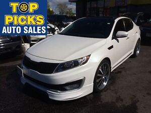 2012 Kia Optima HYBRID DECKED OUT!!...LEATHER, ROOF, NAV, BODY K