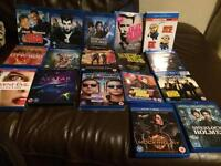 Blu-Ray And DVD Lot