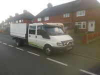 Transit mk6 pick up crew cab tidy truck sell or px wiyh lwb van