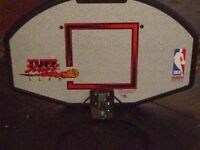 Basketball hoop and fixing box