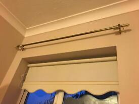 Brass/gold curtain pole